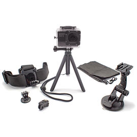 Optex 6-in-1 Action Camera Accessory Kit - GPAKIT6