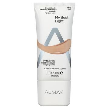 Almay Smart Shade Skintone Matching Makeup - Light