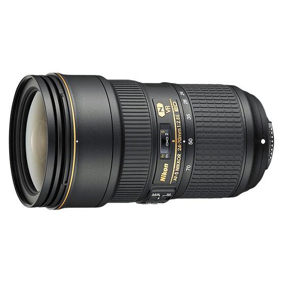 Nikon AFS - FX 24-70mm F2.8E VR Lens - Black - 20052