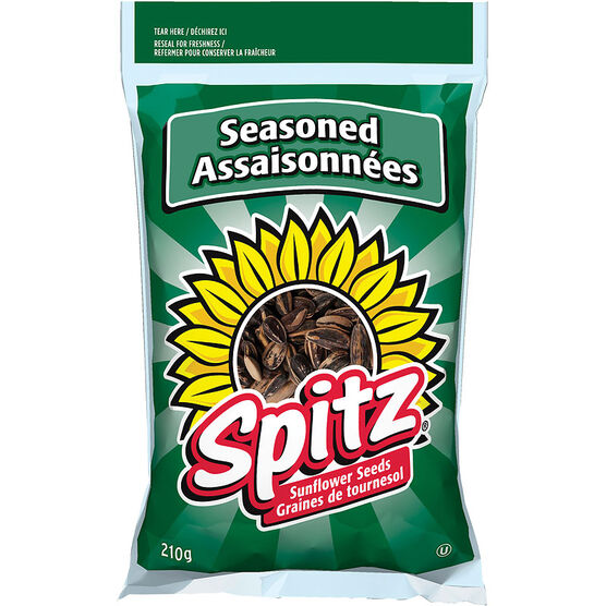 Spitz Sunflower Seeds - Seasoned - 210g