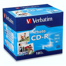 Verbatim Photo CD-R 700MB 52x - 10 pack