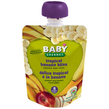 Baby Gourmet Baby Food Stage 3 - Tropical Banana Bliss - 128ml