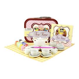 Tea Time Paint & Pretend Kit