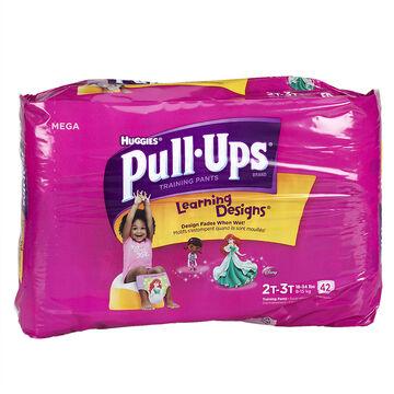 Pull Ups Training Pants - Girls - Size 2-3 - 42's