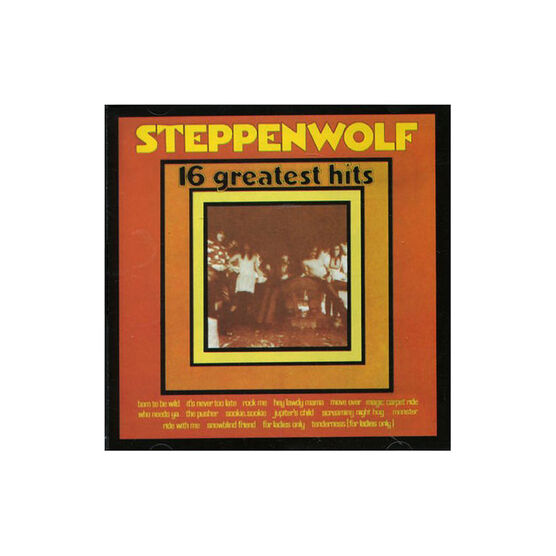 Steppenwolf: 16 Greatest Hits - CD