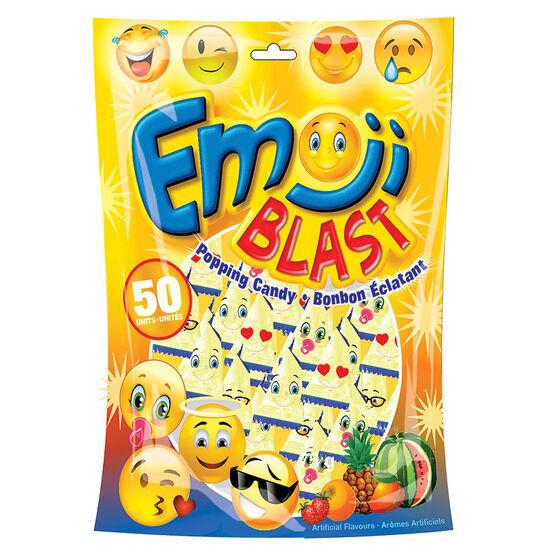 Emoji Blast Popping Candy - 50's
