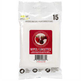 FouFou Pet Wipes - Strawberry - 15's