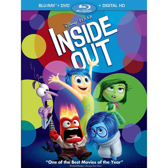 Inside Out - Blu-ray + DVD
