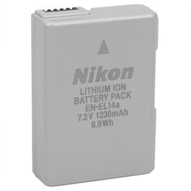 Nikon EN-EL14a Rechargeable Li-ion Battery - 27126