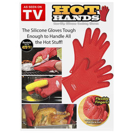 Hot Hands Cooking Gloves - Red - One Size