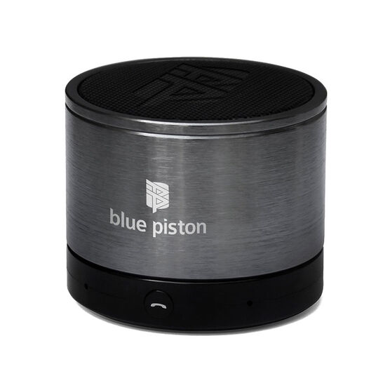 Logiix Blue Piston Wireless Bluetooth Speaker - Gunmetal - LGX10572