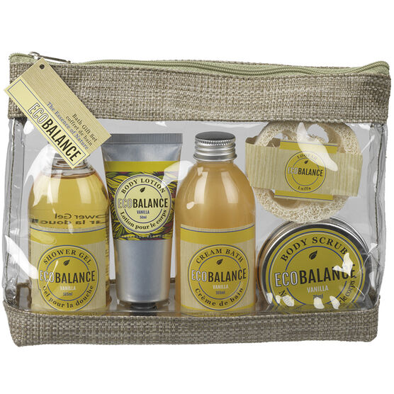 ECOBALANCE Gift Bag Set - Vanilla - 5 piece