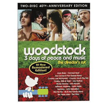 Woodstock - 40th Anniversary Edition - 2 Disc - DVD