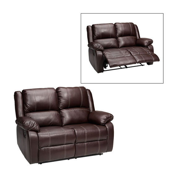 London Drugs Loveseat Manual Recliner - Brown - AF10007
