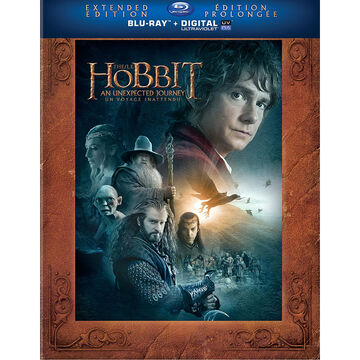 The Hobbit: An Unexpected Journey: Extended Edition - Blu-ray + UltraViolet