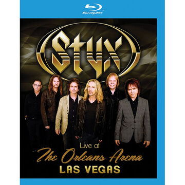 Styx - Life at The Orleans Arena, Las Vegas - Blu-ray