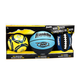 Franklin Mini Sportball Set - 3 Pack