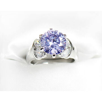 Marca Amy Clear Cubic Zirconia Ring - Size 7