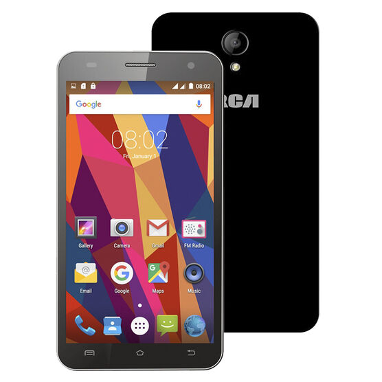 "RCA Dual SIM 5"" Unlocked Smartphone - Black - RLTP5048"