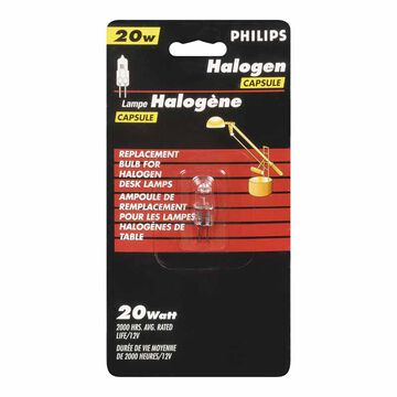 Philips 20W Low Voltage Halogen Capsule