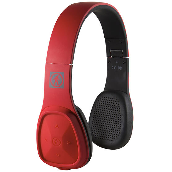 outdoor technology los cabos wireless bluetooth headphones red ot1900r london drugs. Black Bedroom Furniture Sets. Home Design Ideas