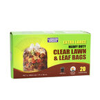 London Drugs Extra Large Lawn & Leaf Bags - Clear - 20's