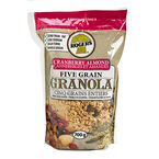 Rogers Five Grain Granola - Cranberry Almond - 700g