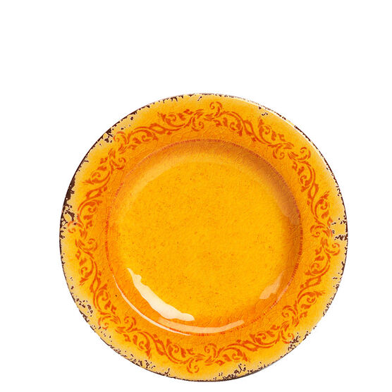 London Drugs It's Melamine Side Plate - Orange - 8.5inch