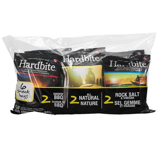 Hardbite Chips - Multipack - 6 x 23g