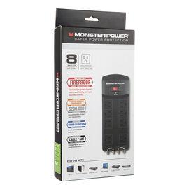 Monster 800 AV Power Bar - Black - MPEXP800AV