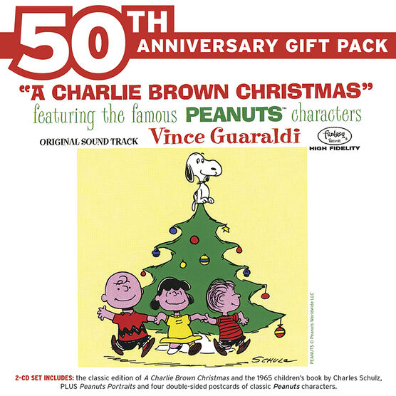 Vince Guaraldi Trio - A Charlie Brown Christmas (50th Anniversary Gift Pack) - 2 CD
