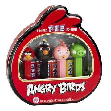 Angry Birds Pez Gift Tin - 4 piece