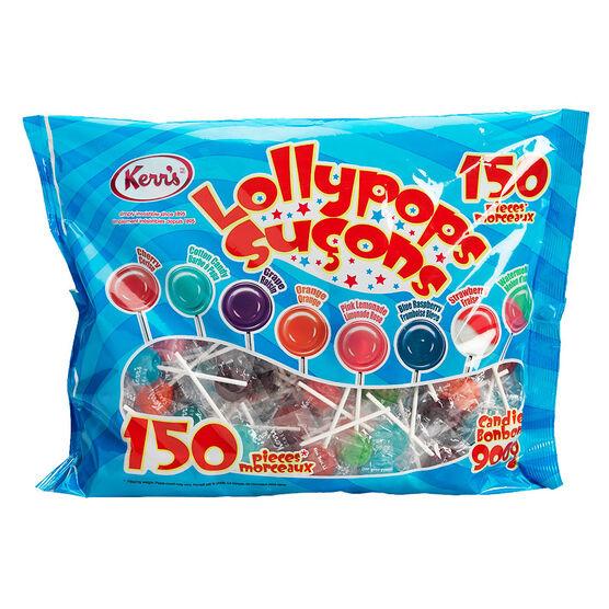 Kerr's Lollypops - 150's