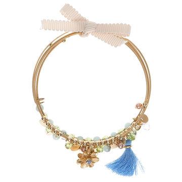 Lonna & Lilly Flower Bracelet Set - Green