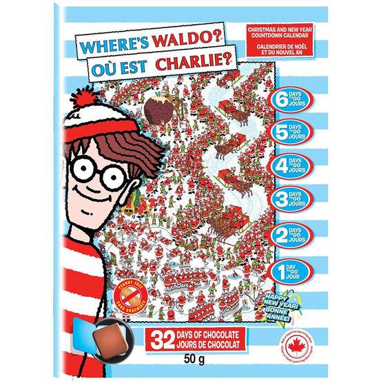 Where's Waldo Advent Calendar - 50g