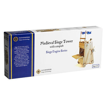 Pathfinders Medieval Siege Tower with Catapult
