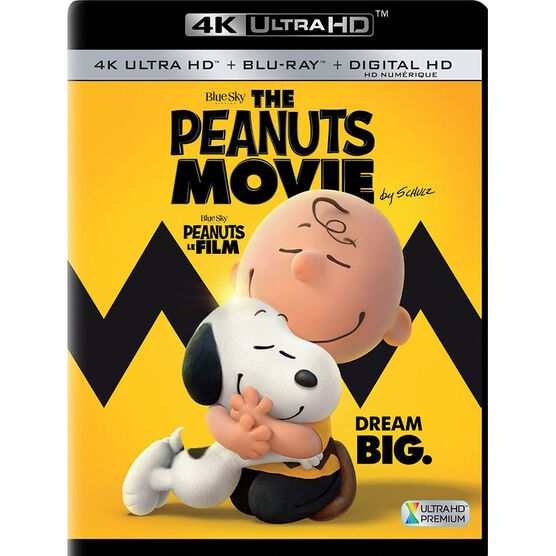 The Peanuts Movie - 4K UHD Blu-ray
