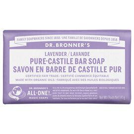 Dr. Bronner's Hemp Pure-Castile Bar Soap - Lavender - 140g