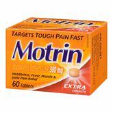 Motrin IB Tablets - 300mg - 60's