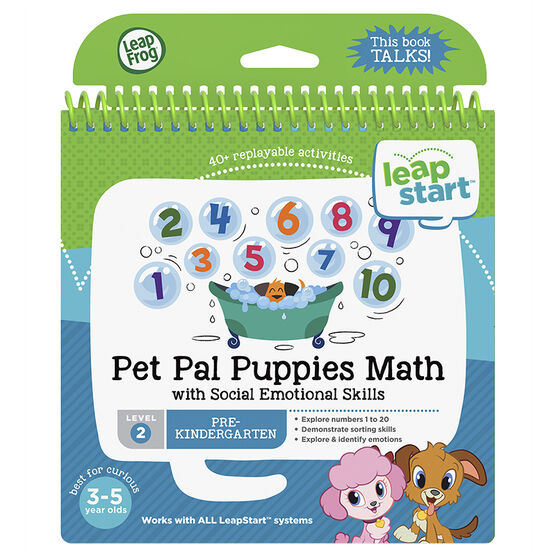 LeapStart Book - Puppy Math - Level 2