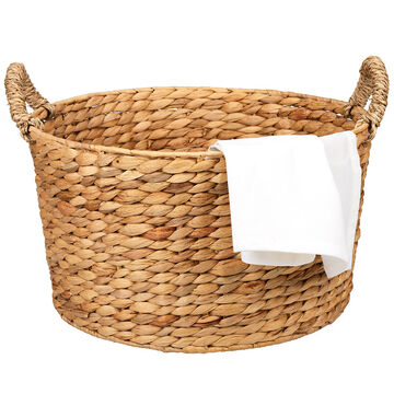 London Drugs Round Weave Basket - 2 Tone - Small