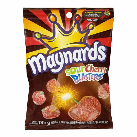 Maynards Sour Cherry Blasters - 185g