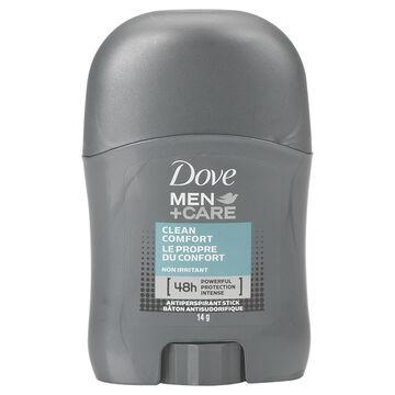 Dove Men+Care Anti-Perspirant Stick - Clean Comfort - 14g