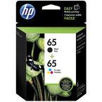 HP 65 2-Pack Ink Cartridge - Black/Tri Colour - T0A36AN#140
