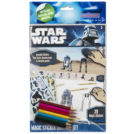 Star Wars - Magic Stickers Drawing Set