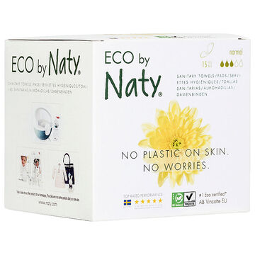 Naty Thin Sanitary Towels - Normal - 15's