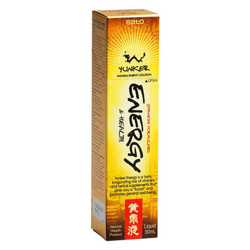 Yunker Energy & Health Liquid Supplement - 30ml