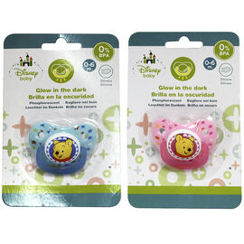 Winnie the Pooh Pacifier - 0-6 months - Assorted