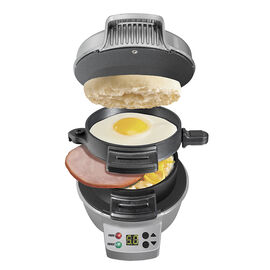 Hamilton Beach Breakfast Sandwich Maker with Timer - 25478C