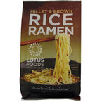Lotus Foods Millet & Brown Rice Ramen with Miso Soup